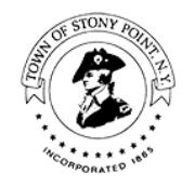 Town of Stony Point logo on RocklandNews website
