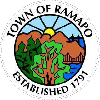 Town of Ramapo logo on RocklandNews website